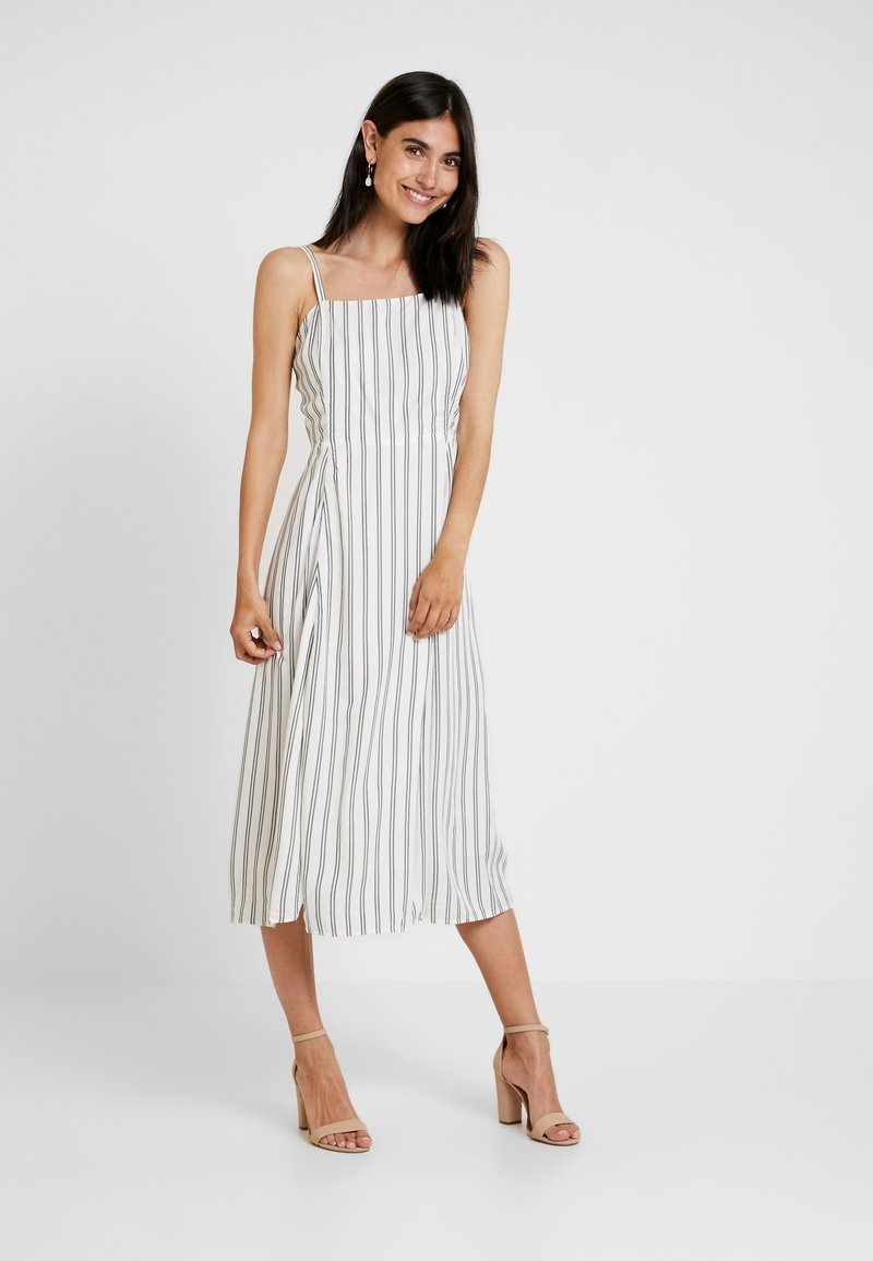 GAP - CAMI - Maxi dress - black/white