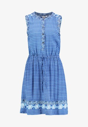 DRESS BORDER - Vestido camisero - new blue