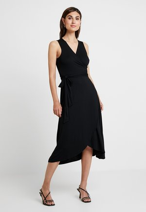 MIDI - Jersey dress - true black