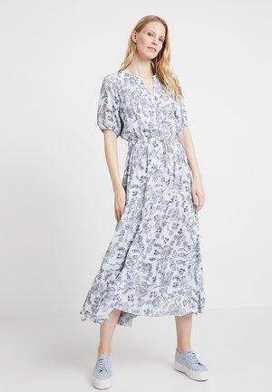 TIERED DRESS - Maxikjole - blue
