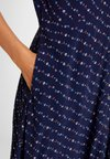 GAP - DOWN - Blusenkleid - navy