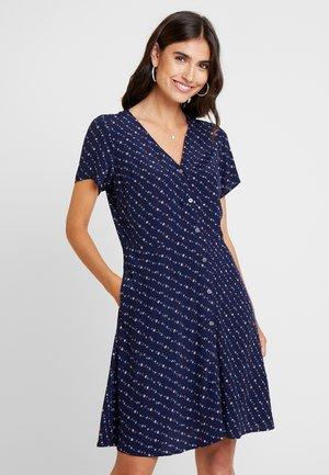 DOWN - Robe chemise - navy