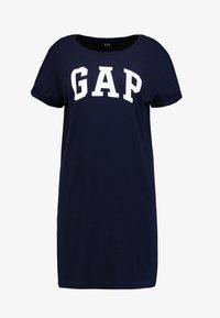 GAP - ARCH TEE - Vestido ligero - navy uniform - 4