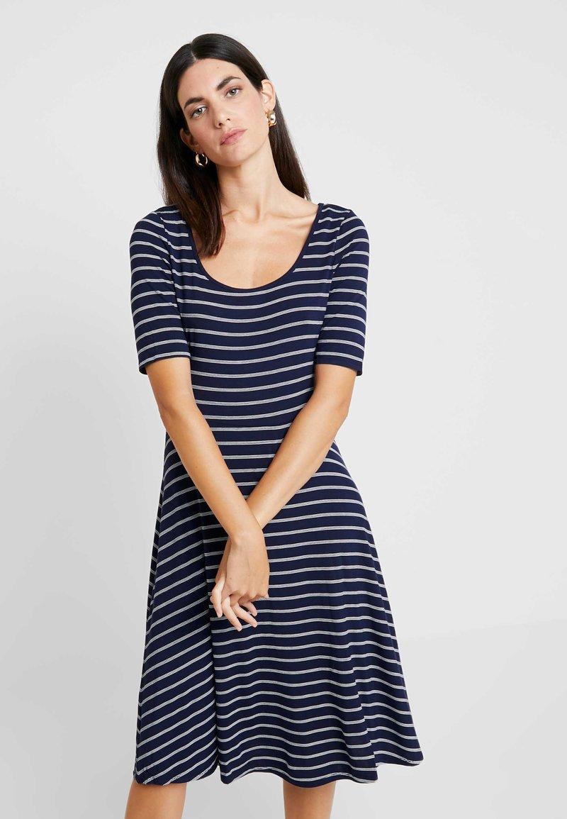 GAP - SCOOP SWING DRESS - Jersey dress - navy