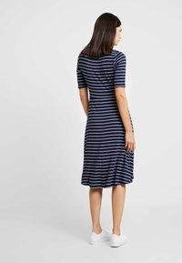 GAP - SCOOP SWING DRESS - Jersey dress - navy - 3