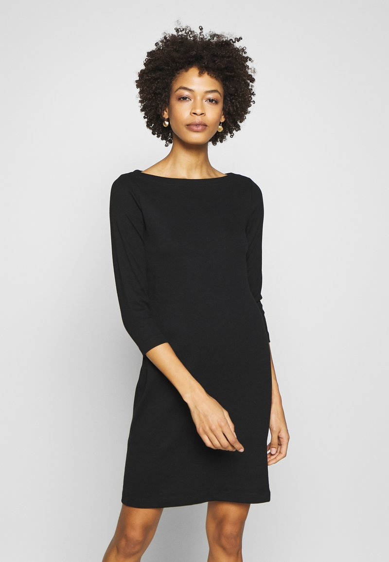 GAP - BOATNECK - Shift dress - true black