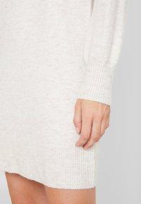 GAP - CREW - Vestido de punto - oatmeal heather - 6