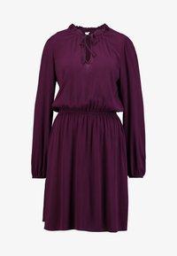 GAP - TIE DRESS - Kjole - secret plum - 3