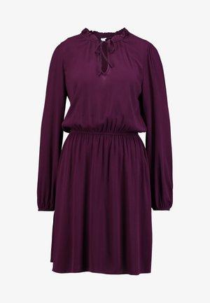 TIE DRESS - Vestito estivo - secret plum