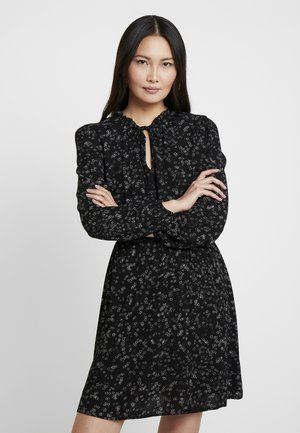 TIE DRESS - Sukienka letnia - black