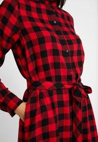GAP - DRESS - Abito a camicia - red - 5