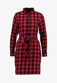 GAP - DRESS - Abito a camicia - red - 4