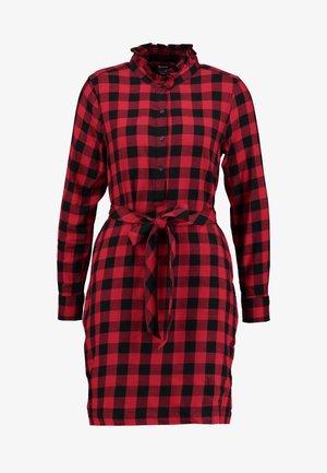 DRESS - Sukienka koszulowa - red
