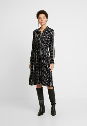 Blousejurk - white windowpane