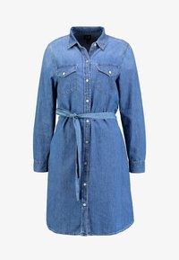GAP - SHRTDRESS WOOSTER - Denim dress - medium indigo - 5