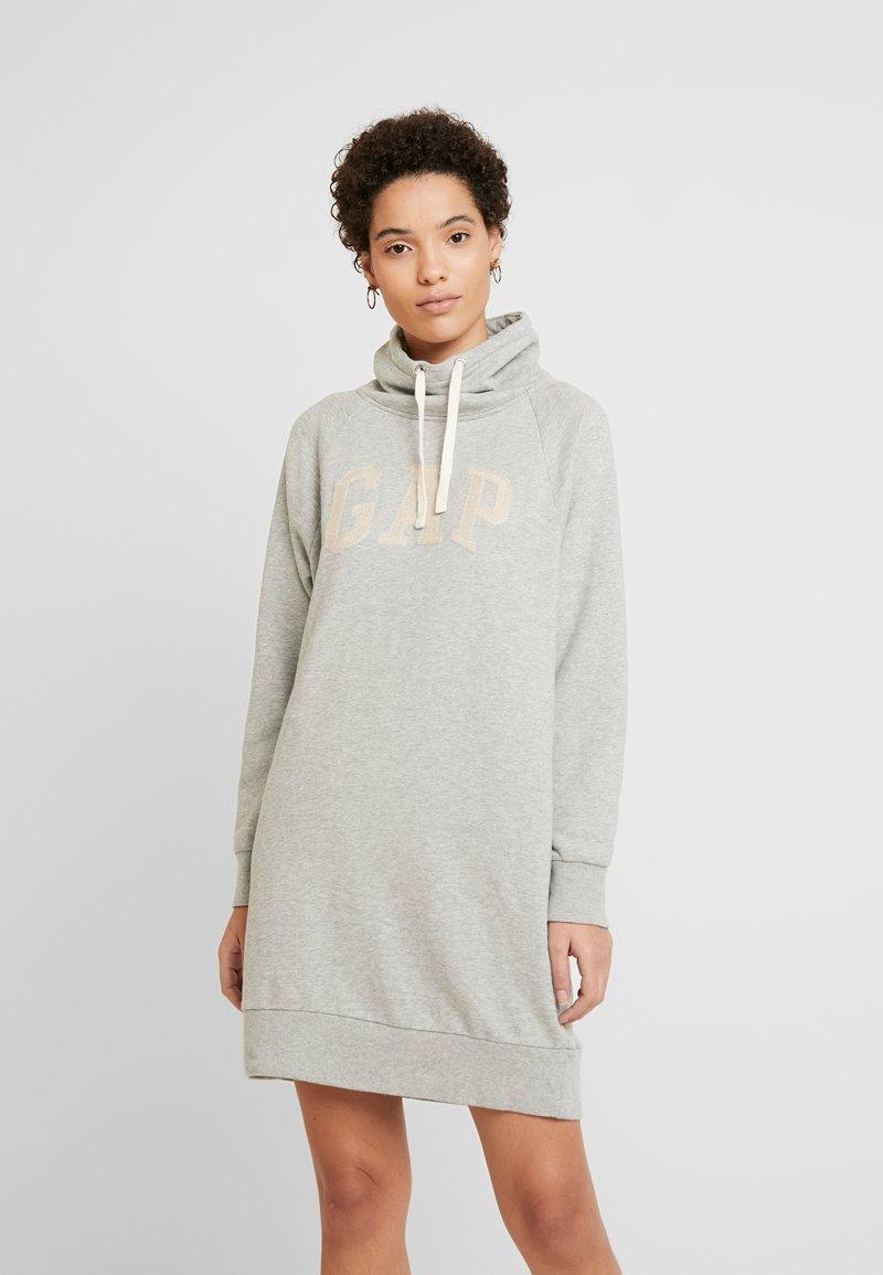 GAP - DRESS - Korte jurk - grey heather