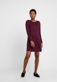GAP - DRESS - Jersey dress - secret plum - 2
