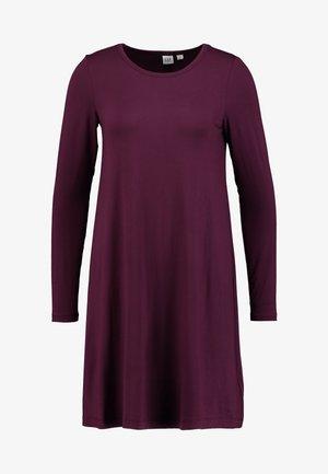 DRESS - Žerzejové šaty - secret plum