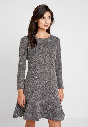 PONTE DRESS - Pouzdrové šaty - black