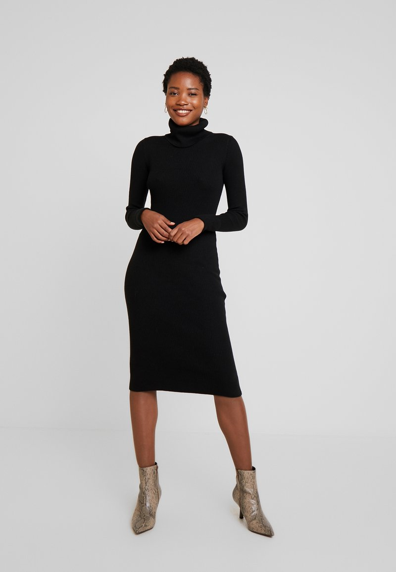 GAP - COLUMN DRESS - Robe fourreau - true black