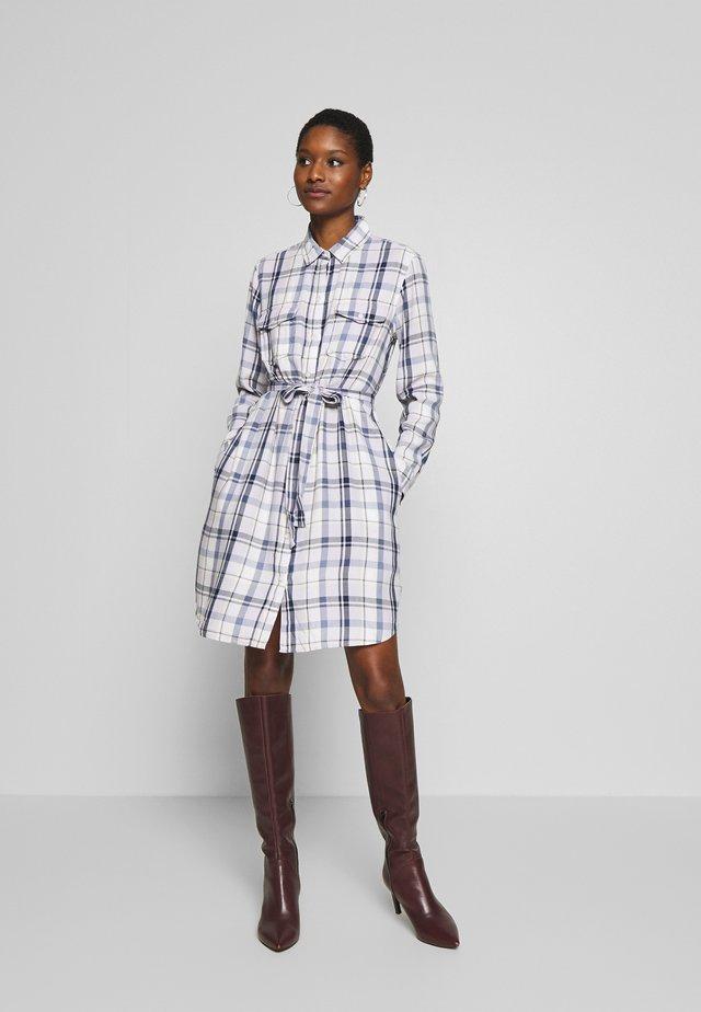 UTILITY DRESS - Shirt dress - spring purple