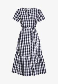 GAP - Denní šaty - navy gingham - 4