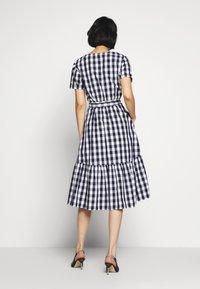 GAP - Denní šaty - navy gingham - 2