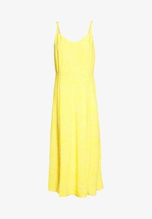 V CAMI MIDI - Korte jurk - yellow