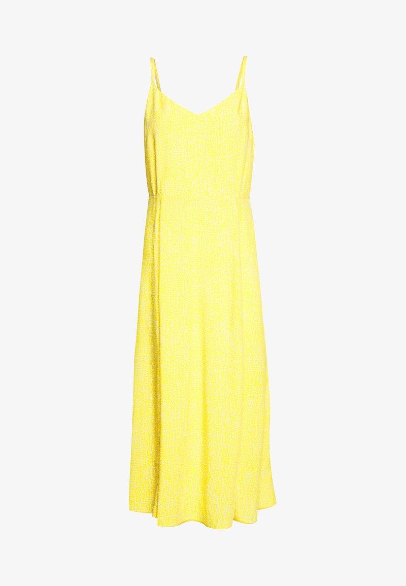 GAP - V CAMI MIDI - Day dress - yellow