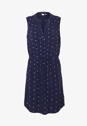 SHIRT DRESS - Denní šaty - navy