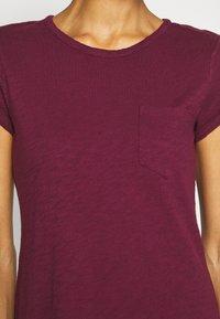 GAP - TEE DRESS - Vestido ligero - ruby wine - 5