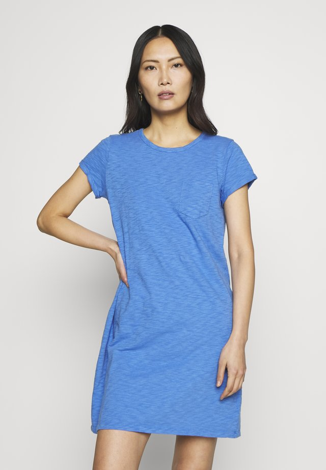 TEE DRESS - Jerseyjurk - belle blue