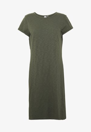 TEE DRESS - Jerseykjole - baby tweed