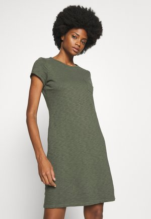 TEE DRESS - Jersey dress - baby tweed