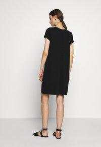 GAP - TEE DRESS - Jerseyjurk - true black - 2
