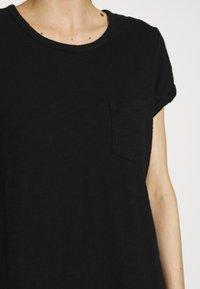 GAP - TEE DRESS - Jerseyjurk - true black - 6