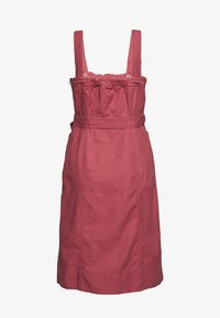 GAP - PANELED APRON DRESS - Sukienka jeansowa - pink city - 1