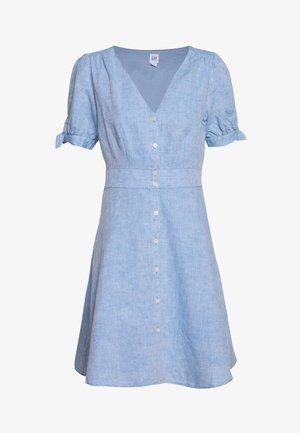 MINI - Blusenkleid - light blue