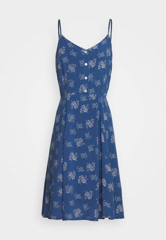 CAMI - Shirt dress - blue