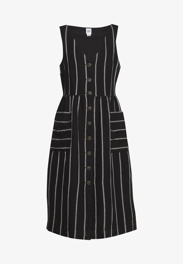 MIDI - Sukienka koszulowa - black