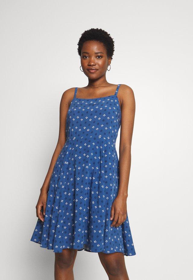 CAMI DRESS - Korte jurk - navy geo