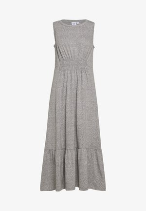 Jersey dress - light grey marle