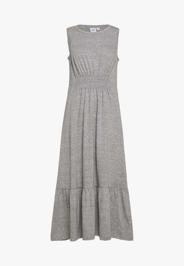 Robe en jersey - light grey marle