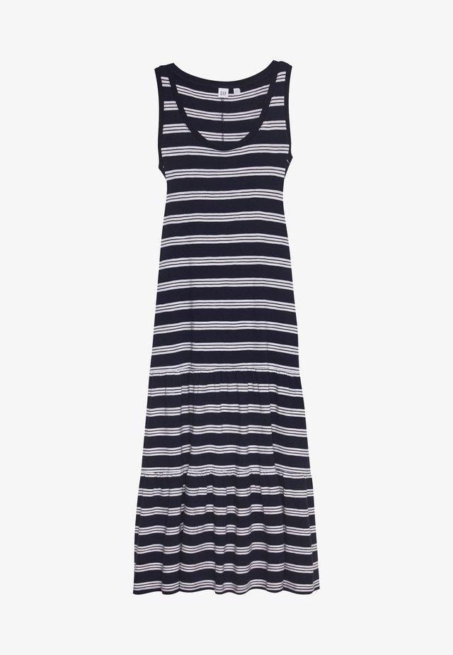 TIERED - Długa sukienka - navy