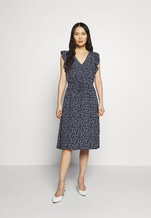 MIDI - Day dress - navy floral