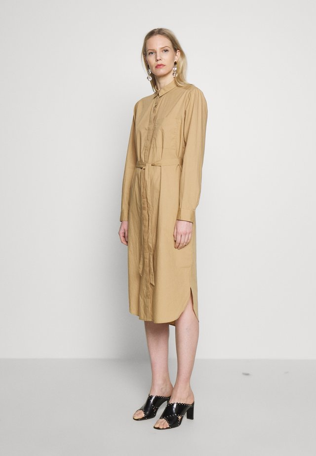 SHIRTDRESS - Blousejurk - mojave