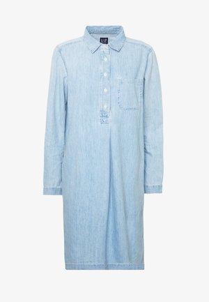POPOVER DRESS VALLEY - Abito a camicia - medium indigo