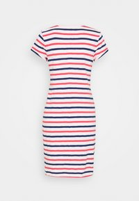 GAP - TEE DRESS - Jersey dress - blue/red/pink - 1