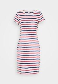 GAP - TEE DRESS - Jersey dress - blue/red/pink - 0