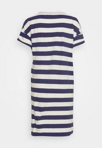 GAP - TEE - Vestido informal - navy/white - 1